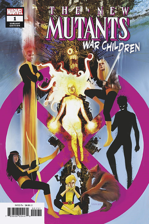 NEW MUTANTS WAR CHILDREN #1 SIMMONDS VAR