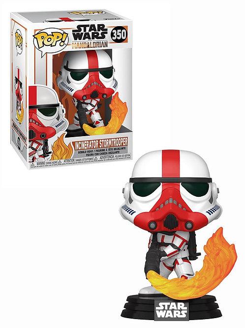 Фигурка Funko POP! Bobble: Star Wars: Mandalorian:  Incinerator Stormtrooper