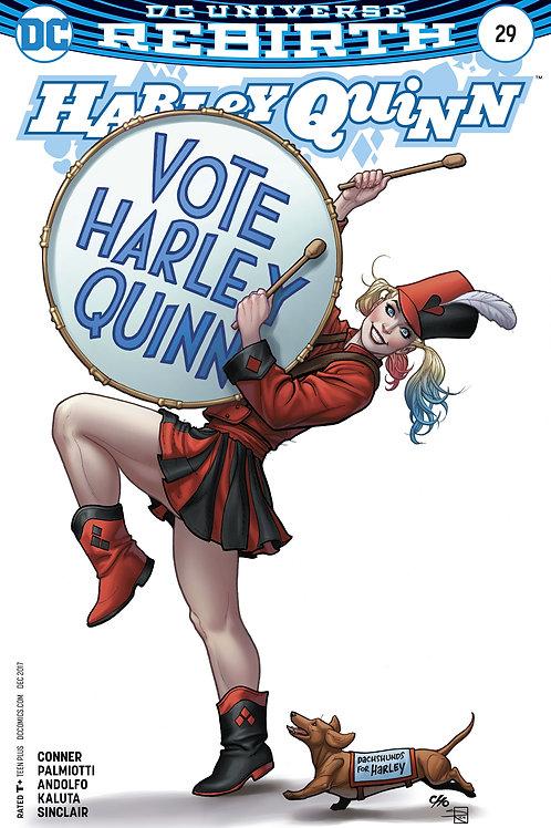 HARLEY QUINN #29 VAR ED