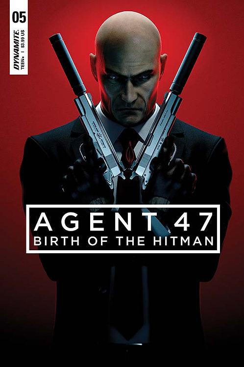 AGENT 47 BIRTH OF HITMAN #5 CVR B GAMEPLAY