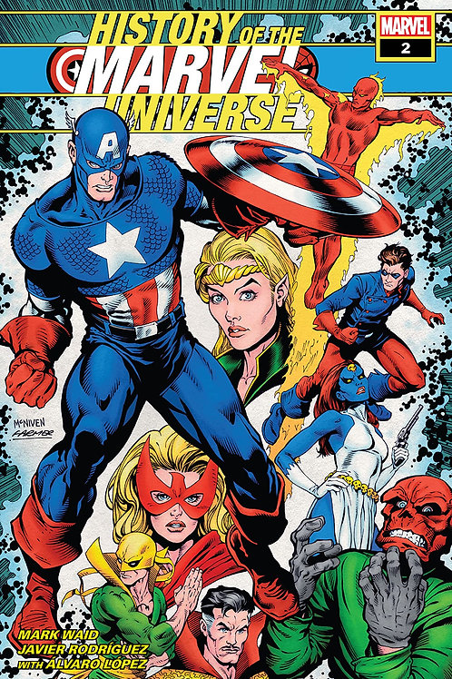 HISTORY OF MARVEL UNIVERSE #2