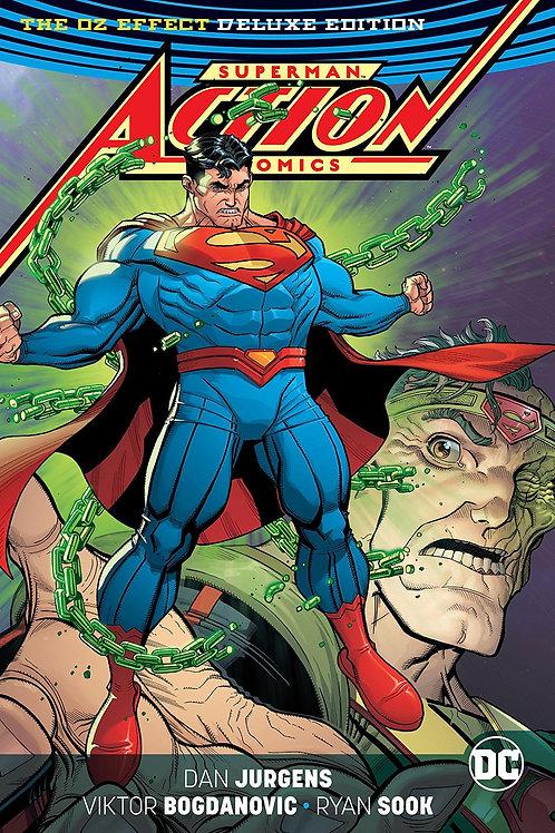 SUPERMAN ACTION COMICS REBIRTH DLX ED MR OZ HC