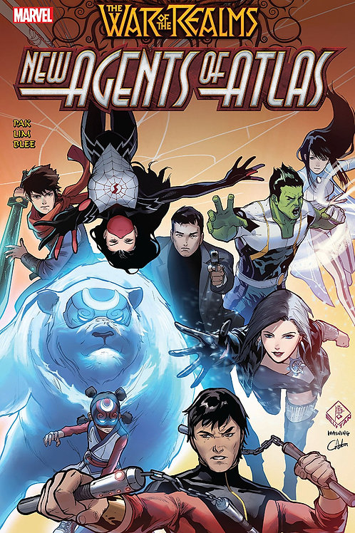 WAR OF REALMS NEW AGENTS OF ATLAS TP