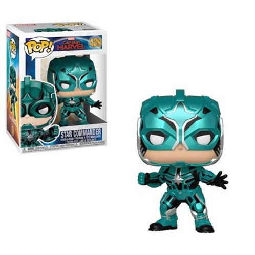 "Фигурка Funko Pop! Captain Marvel ""Star Commander"" (Yon-Rogg)"