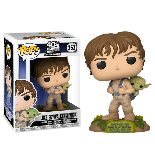 Фигурка Funko POP! Bobble: Star Wars : Training Luke with Yoda