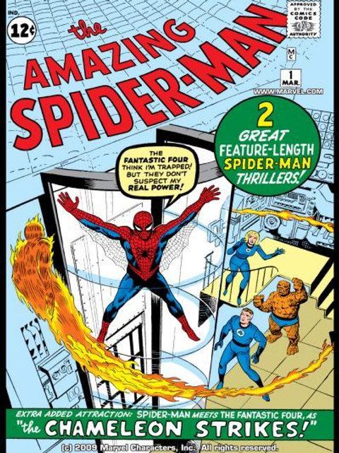 TRUE BELIEVERS AMAZING SPIDER-MAN #1
