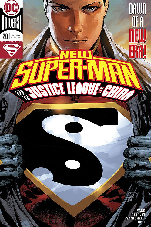 NEW SUPER MAN & THE JUSTICE LEAGUE OF CHINA #20