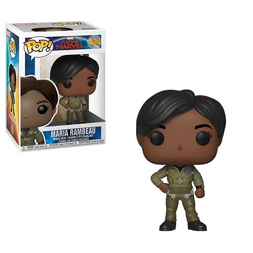 Фигурка Funko POP! Bobble Marvel: Captain Marvel: Maria Rambeau