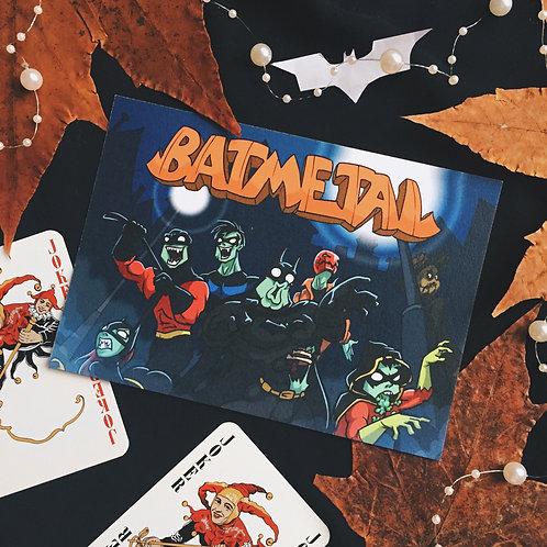 """Открытка Batmetal """"Зомби"""""""
