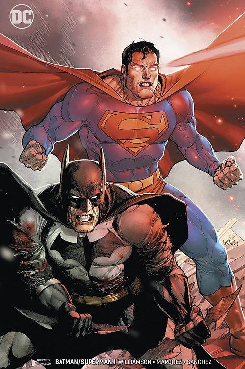 BATMAN SUPERMAN #1 VAR ED