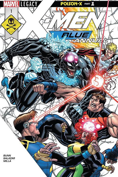 X-MEN BLUE ANNUAL #1 LEG