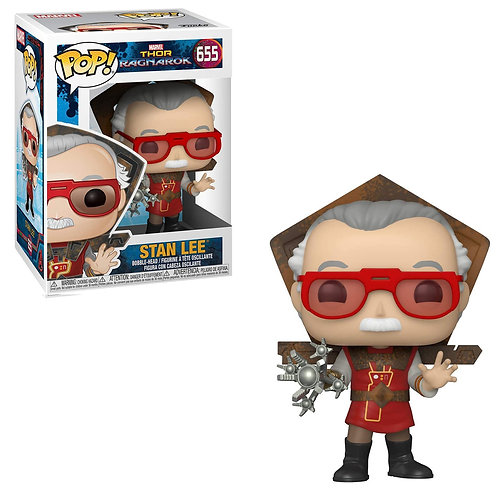 Фигурка Funko POP! Bobble: Marvel: Stan Lee in Ragnarok Outfit