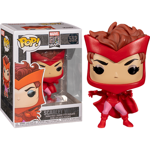 Фигурка Funko POP! Bobble: Marvel: Marvel 80th: First Appearance: Scarlet Witch