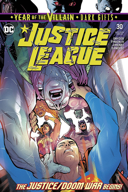 JUSTICE LEAGUE #30 YOTV DARK GIFTS