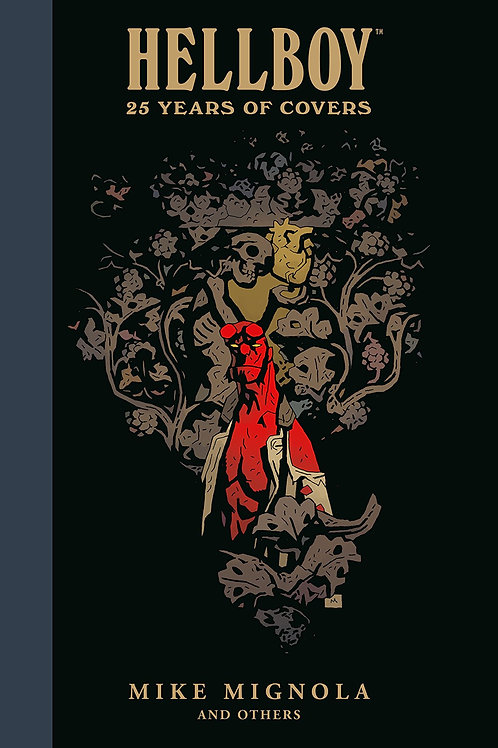HELLBOY 25 YEARS OF COVERS HC