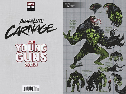 ABSOLUTE CARNAGE #3 (OF 5) LARRAZ YOUNG GUNS VAR AC