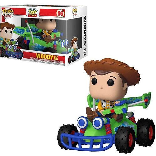 Фигурка Funko POP! Rides Disney Toy Story Woody w/ RC