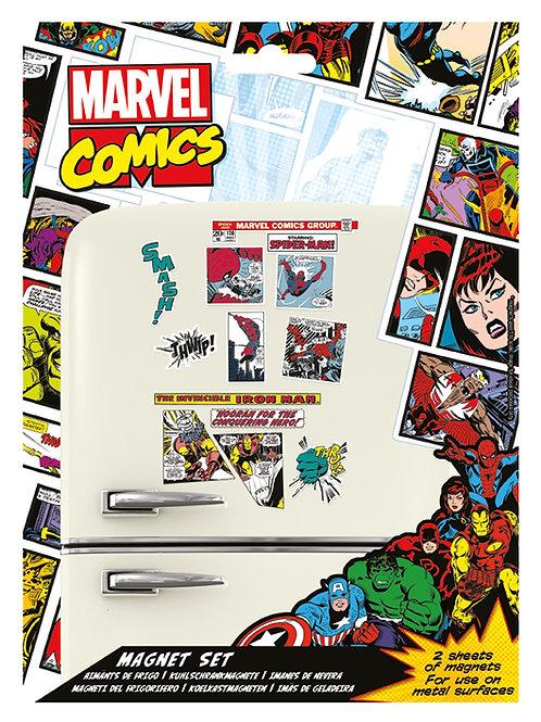 Набор лицензионных магнитов Marvel (Comic)