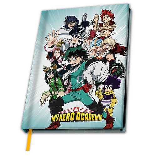Записная книжка My Hero Academia Heroes A5 Notebook