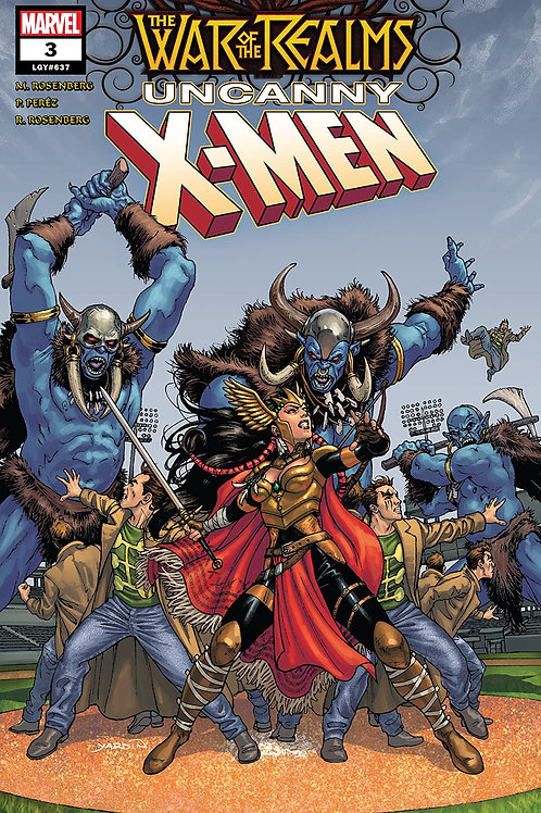 WAR OF REALMS UNCANNY X-MEN #3 (OF 3) WR