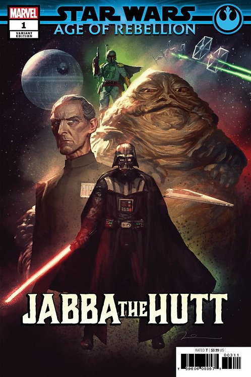 STAR WARS AOR JABBA THE HUTT #1 PAREL VILLAINS VAR