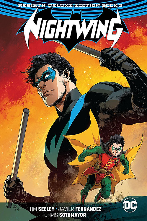 NIGHTWING REBIRTH DLX COLL HC BOOK 02