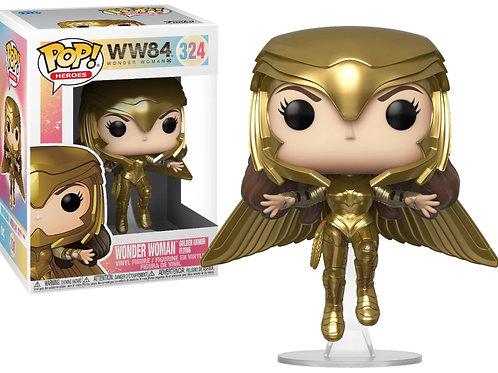 Фигурка Funko POP! Vinyl: DC: Wonder Woman 84: Wonder Woman (Gold Flying Pose)