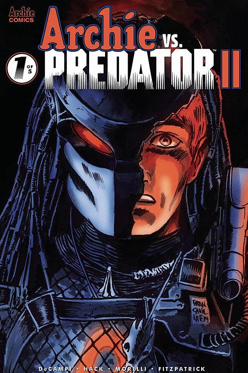 ARCHIE VS PREDATOR 2 #1 CVR D FRANCAVILLA