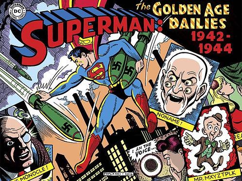 SUPERMAN THE GOLDEN AGE NEWSPAPER DAILIES HC 1942-1944