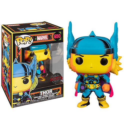 Фигурка Funko POP! Bobble: Marvel: Black Light: Thor (Exc)