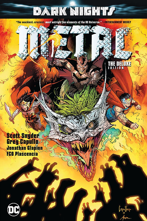 DARK NIGHTS METAL DELUXE ED HC