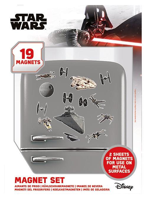 Набор лицензионных магнитов Star Wars (Death Star Battle)