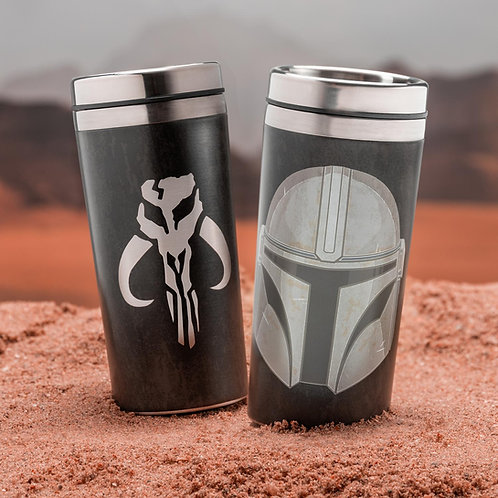 Кружка-термос SW Mandalorian Travel Mug 450 ml