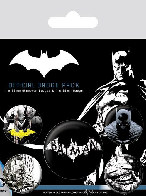 Набор лицензионных значков Batman Badge Pack