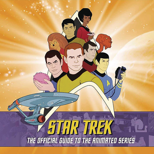 STAR TREK OFFICIAL GUIDE TO ANIMATED SERIES HC