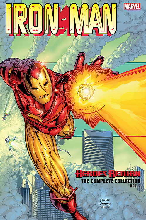 IRON MAN HEROES RETURN COMPLETE COLLECTION TP VOL