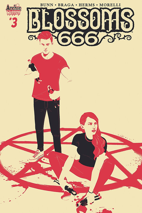 BLOSSOMS 666 #3 CVR C TAYLOR