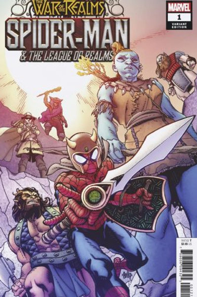 WAR OF REALMS SPIDER-MAN & LEAGUE OF REALMS #1 (OF 3) WR VAR