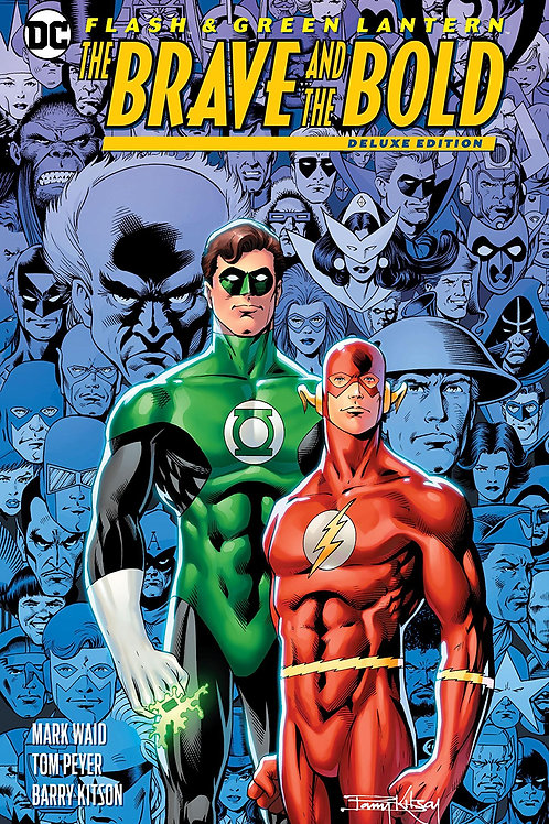 FLASH GREEN LANTERN BRAVE & THE BOLD DLX ED HC