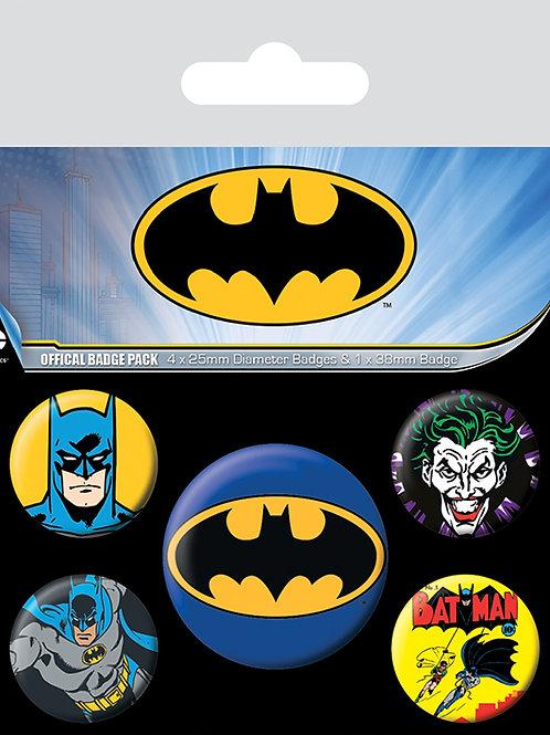Набор лицензионных значков Batman