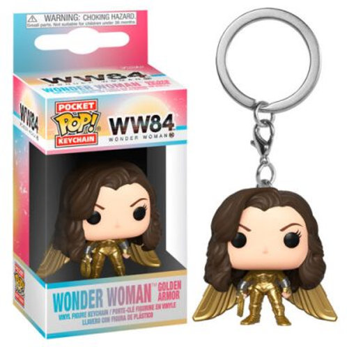 Брелок Funko Pocket POP! Keychain: DC: Wonder Woman Hold No Helmet