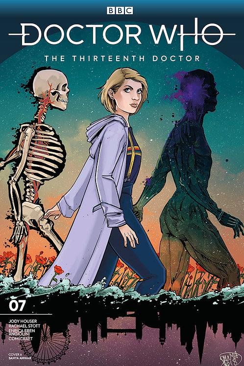 DOCTOR WHO 13TH #7 CVR A ANWAR