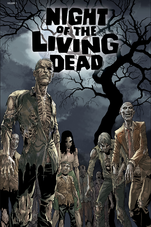 NIGHT OF THE LIVING DEAD SGN HC VOL 01
