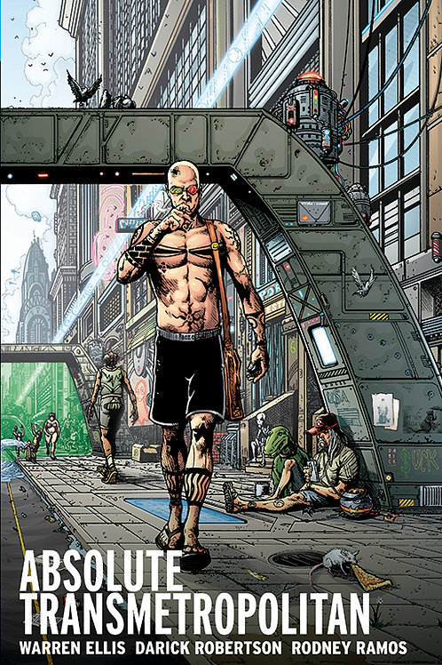 ABSOLUTE TRANSMETROPOLITAN HC VOL 02