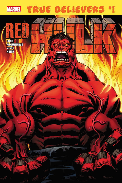 TRUE BELIEVERS HULK RED HULK #1