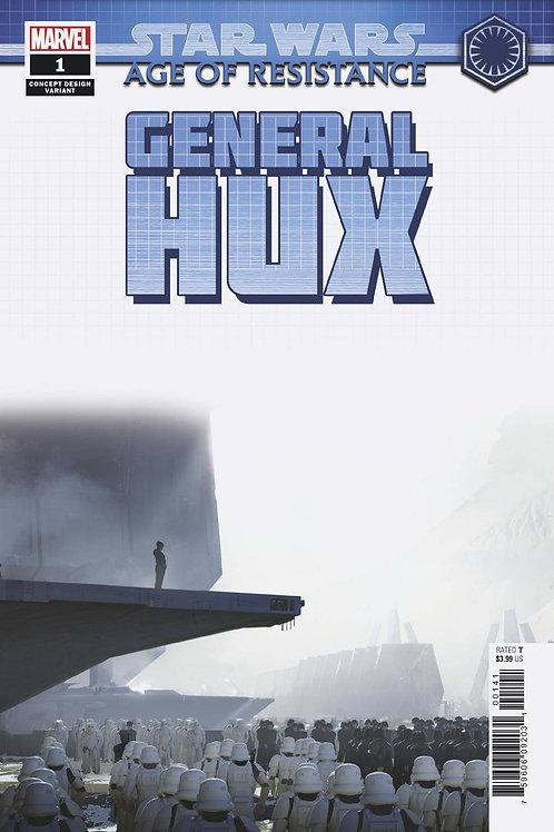 STAR WARS AOR GENERAL HUX #1 CONCEPT VAR