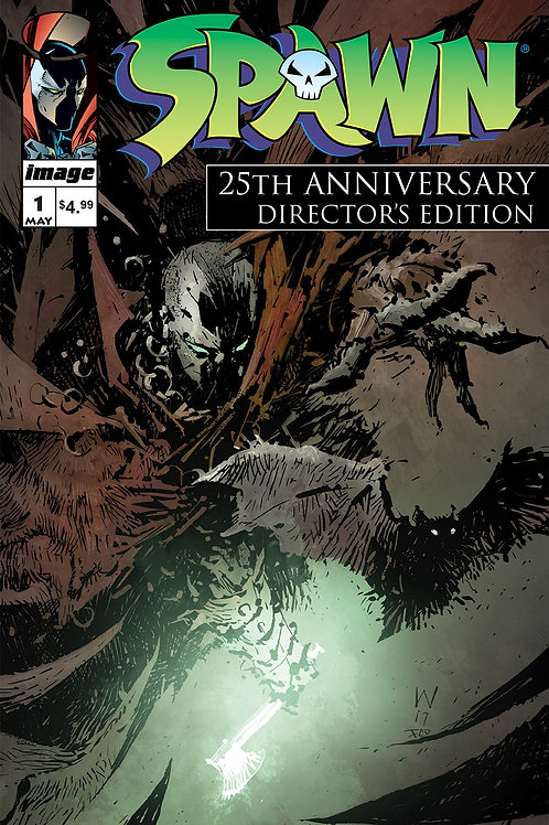 Spawn #1. 25th Anniversary Directors Cut (Cover: A. Wood)