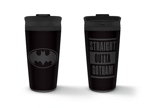 Кружка-термос DC Batman (Straight Outta Gotham) Metal Travel Mug