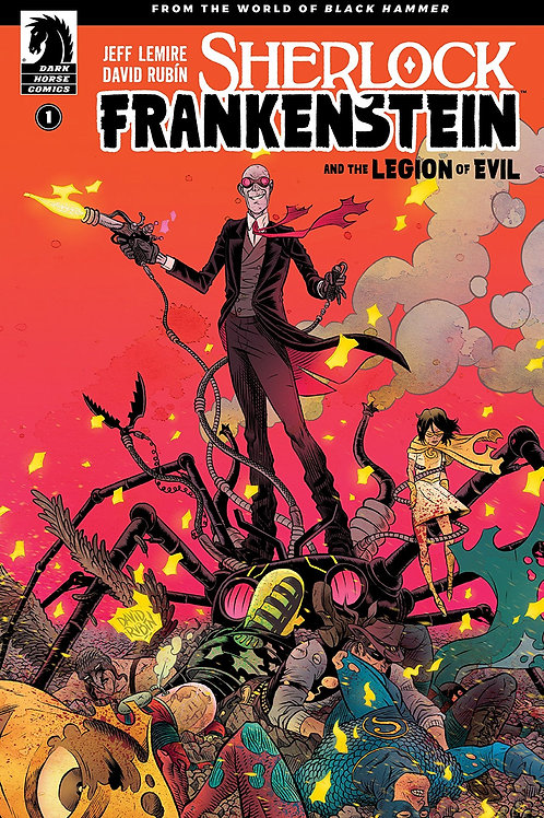 SHERLOCK FRANKENSTEIN LEGION OF EVIL FROM BLACK HAMMER TP