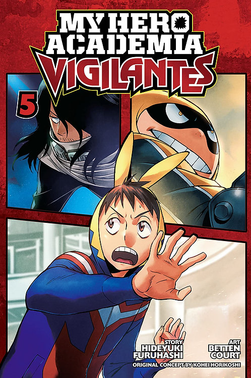 MY HERO ACADEMIA VIGILANTES GN VOL 05